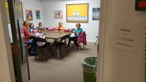 1st - 3rd Grade Class Located In Basement